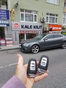 Audi a4 keyless anahtar