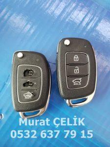 Hyundai i20 anahtar kabı