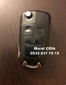 Opel Corsa D Anahtar kabı ve görselidir