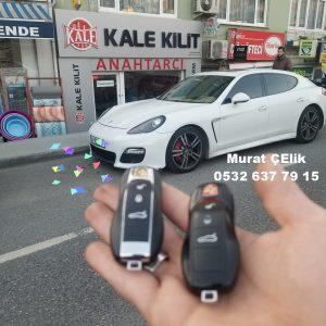 Porsche panamera yedek anahtar