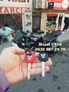 Yamaha Mt 07 Motor anahtarı