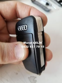 Audi A3 Sedan Orjinal Anahtar Görselidir.