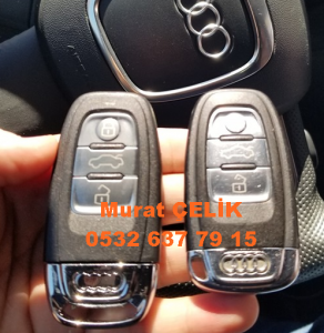 Audi Q5 anahtar