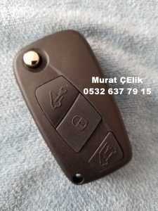 Fiat punto kumandalı yedek anahtar