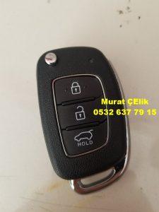 Hyundai accent blue anahtar orjinal görselidir.