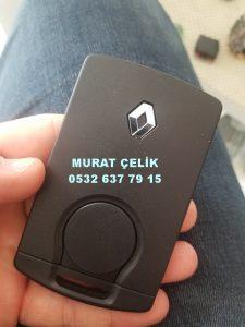 Renault megane 3 yedek anahtar