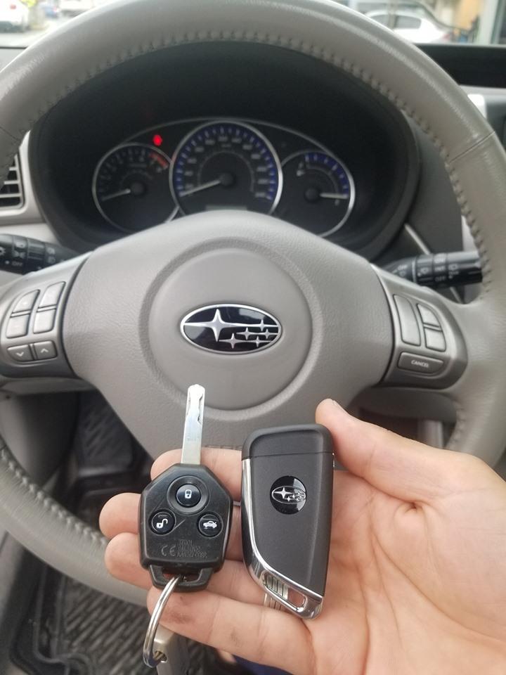 Subaru anahtar görselidir