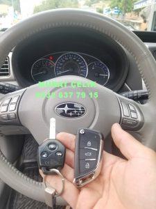Subaru anahtar görselidir.