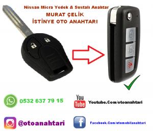 Nissan micra orjinal anahtar