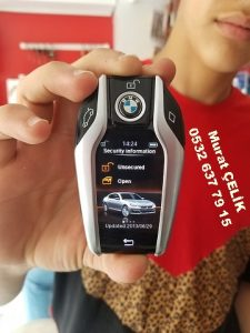 Bmw Display Key Anahtar