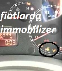 fiat araçlarda immobilizer arızası