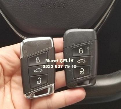 Skoda Superb araç anahtar kopyalama