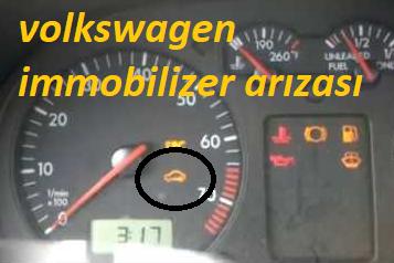 volkswagen immobliizer arızası