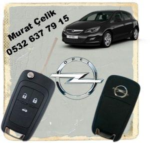 Opel Astra j anahtar