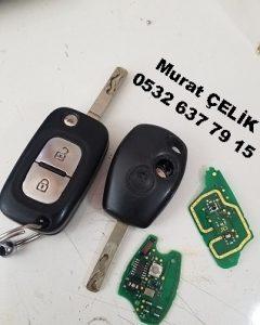 Renault clio 3 anahtar