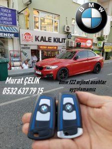 bmw f22 218i anahtar - bmw f22 218d anahtar- bmw f22 anahtar