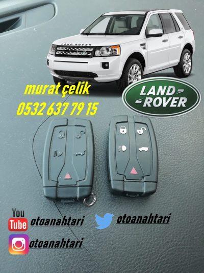 land rover freelander 2 anahtar - land rover freelander 2 yedek anahtar