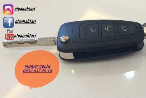 Ford focus 3 anahtar kabı - ford focus 3 anahtar kasası - ford focus 3 sustalı anahtar kabı