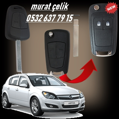 Opel astra h orjinal anahtar