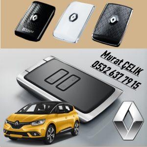 Renault scenic 4 kart anahtar