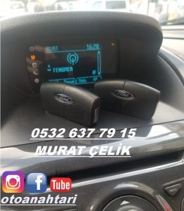 ford tourneo courier orjinal yedek anahtar