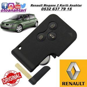 Renault megane 2 kanrtlı anahtar