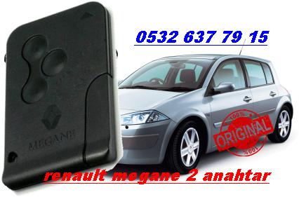 Renault megane 2 orjnial kart
