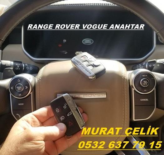2016 range rover vogue anahtar