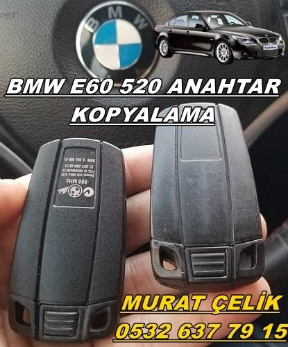BMW e60 520 orjinal anahtar
