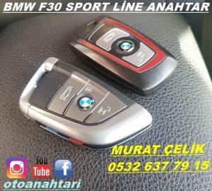 bmw f30 sport line anahtar görseli