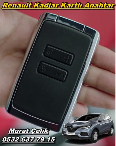 orjinal renault kadjar kartlı anahtar