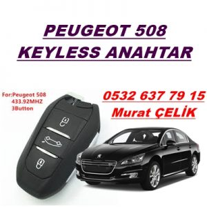 peugeot 508 smart anahtar kopyalama