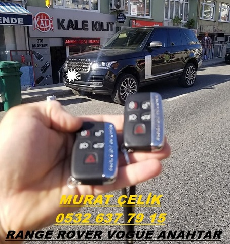 range rover vogue orjinal anahtar