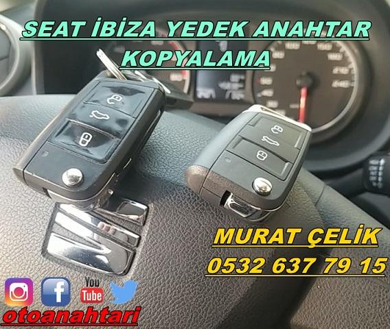 seat ibiza orjinal anahtar