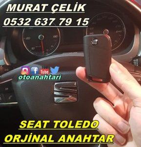 seat toledo orjinal anahtar kopyalama
