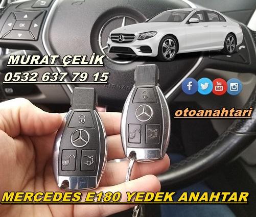 Mercedes e250 anahtar kopyalama