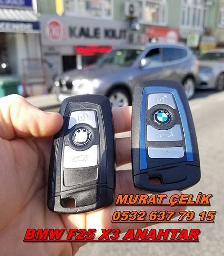 bmw x3 f25 anahtar