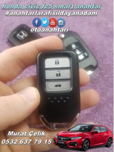 honda civic fc5 smart anahtar