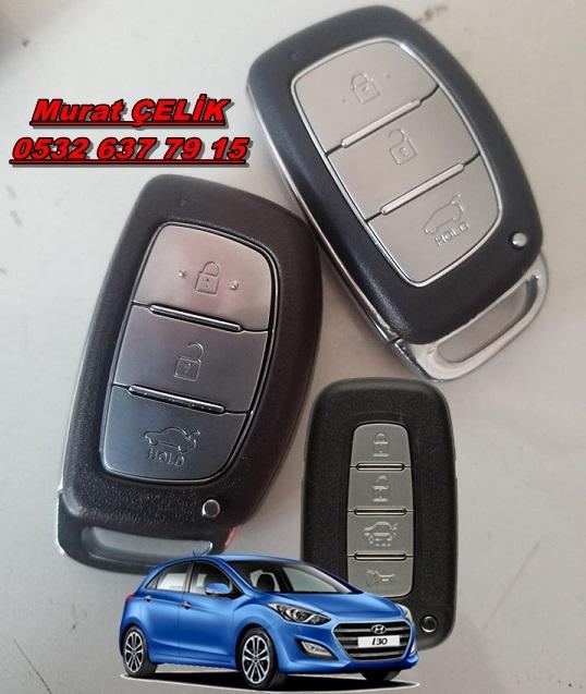 hyundai i30 keyless anahtar