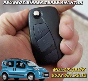 Peugeot bipper tepee anahtar kopyalama