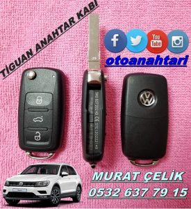 Volkswagen tiguan anahtar kabı
