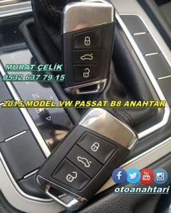 2015 volkswagen passat b8 anahtar
