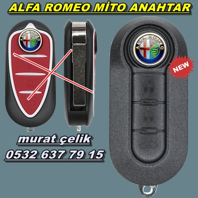Alfa Romeo Mito yedek anahtar görseli