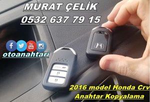 honda crv 2016 model keyless anahtar