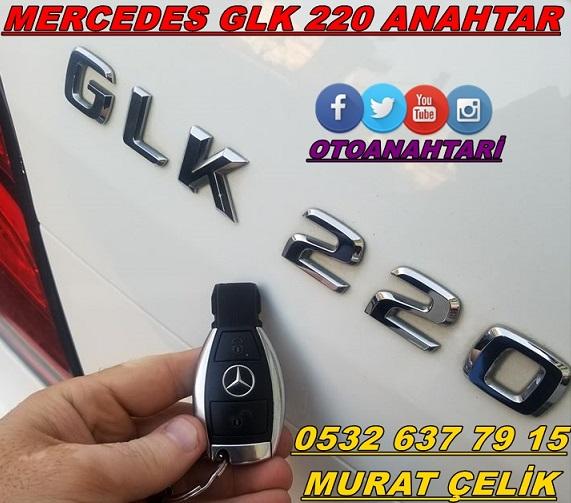 Mercedes glk 220 araç anahtarı