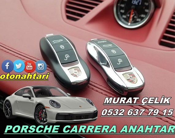 Porsche carrera araç anahtarı