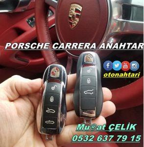 Porsche Carrera yedek anahtar