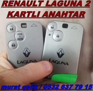 Renault laguna 2 kart anahtar kopyalama