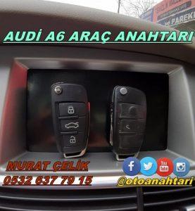 audi a6 araç anahtarı
