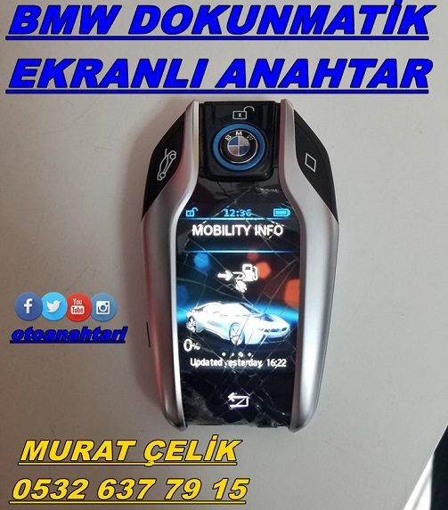 bmw i8 display anahtar